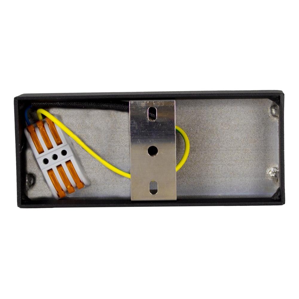 Opbouw AR111 spot armatuur - enkel - Zwart - kantelbaar - dimbaar - GU10 fitting - achterkant (2)