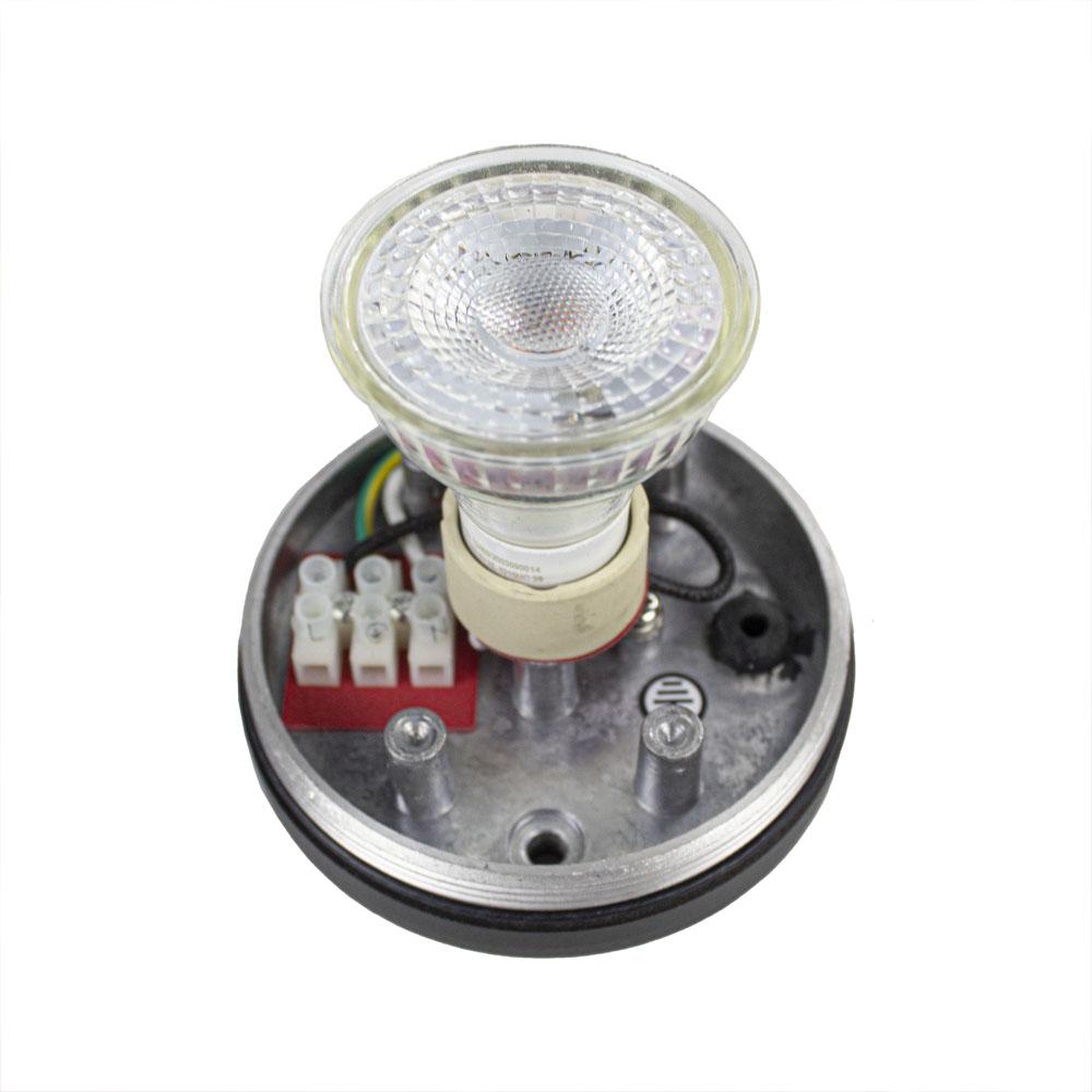 LED opbouw plafond spot GU10 fitting IP44- fitting met spot