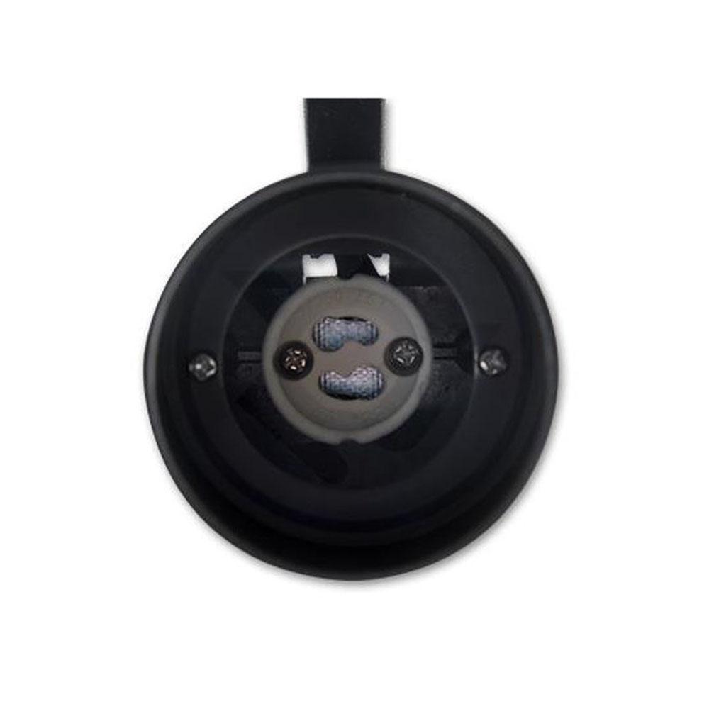 Opbouw spot enkel zwart - GU10 fitting - fitting