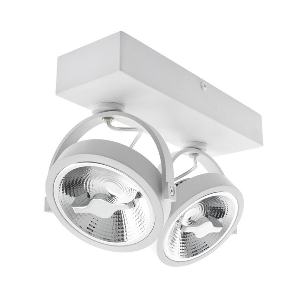 Witte Opbouw-spot--Dubbel-Dimbaar-WIT-Incl.-LED-lampen-kantelbaar-zijkant