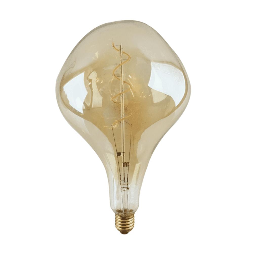 Calex Organic Globe filament LED - Gold glass - E27 - Dimbaar - 6 watt