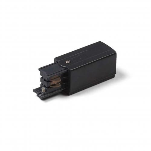powerconnector - voedingsconnector zwart voor 3-fase rails