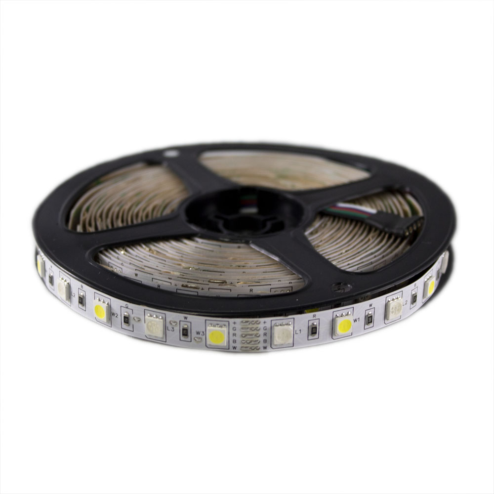 RGB+WW LED Strip 5 meter - 12 volt - dimbaar - 2700K RGB