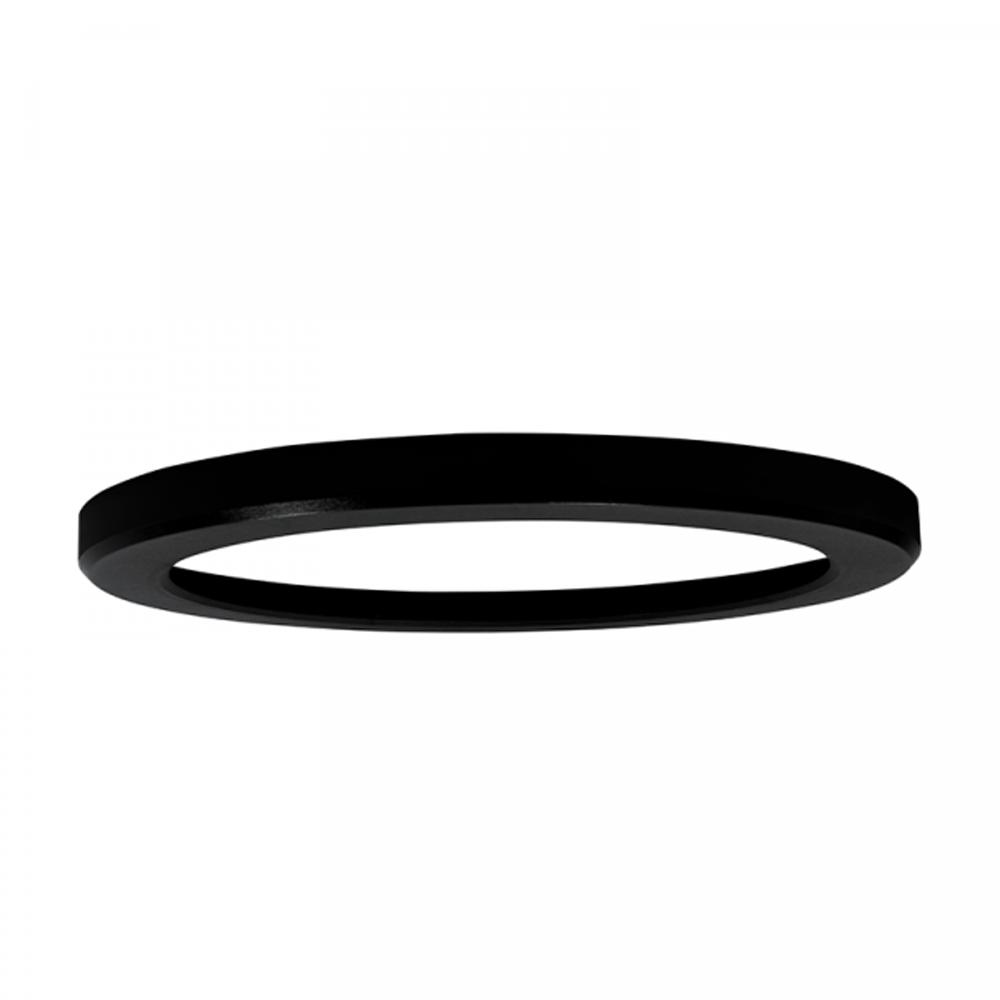 opbouw ring voor led downlight zwart - bovenkant