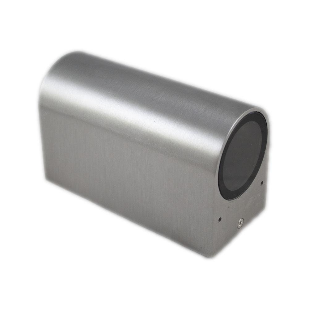 Santa Barbara aluminium vierkant 2 x GU10 fitting - liggend
