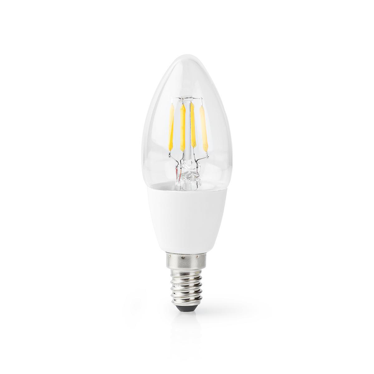 Slimme Led Lamp E14 fitting 2700K - Warm wit - lamp uit