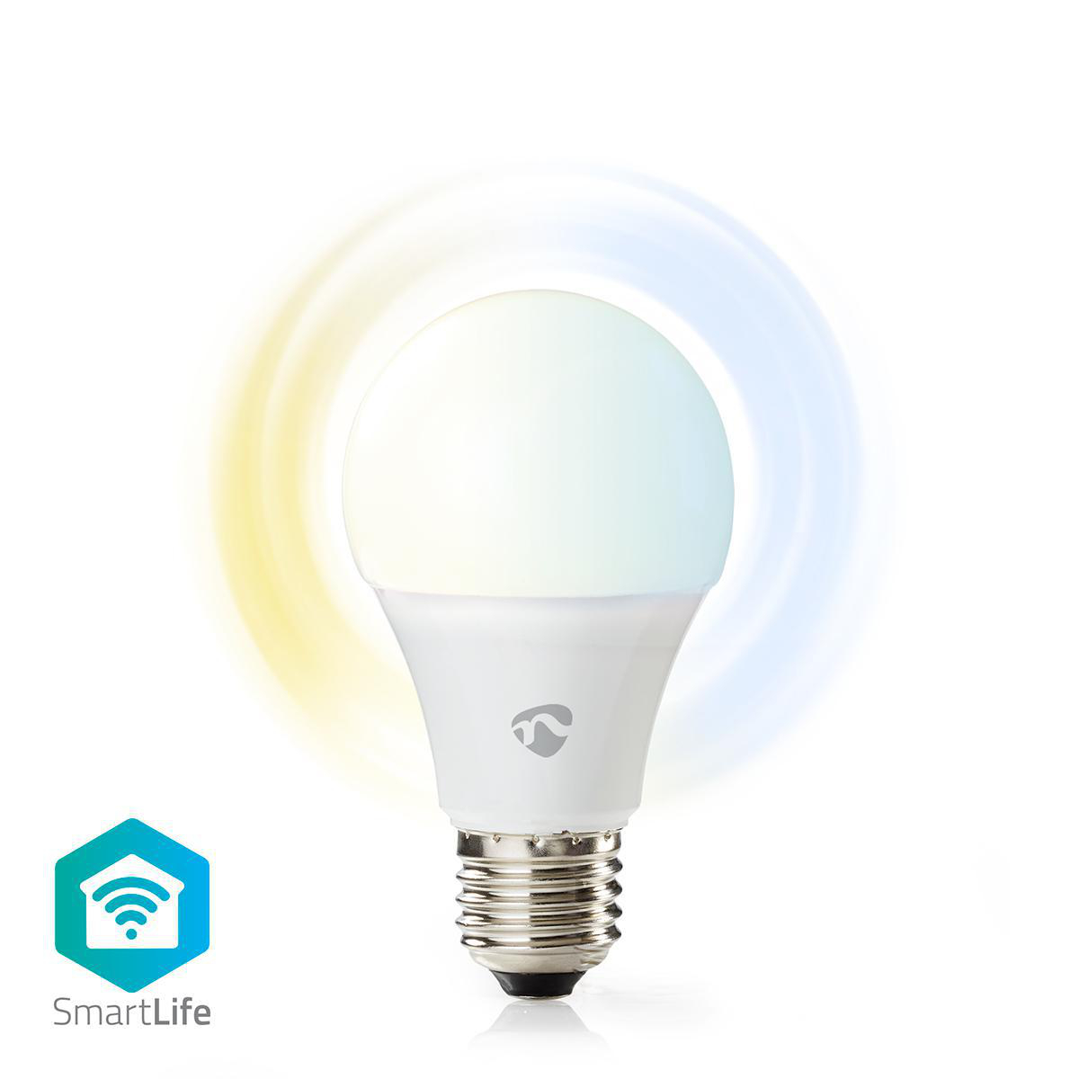 Slimme Wi-Fi Led Lamp 9 Watt CCT - Kleurwissel - verschillende lichtkleuren