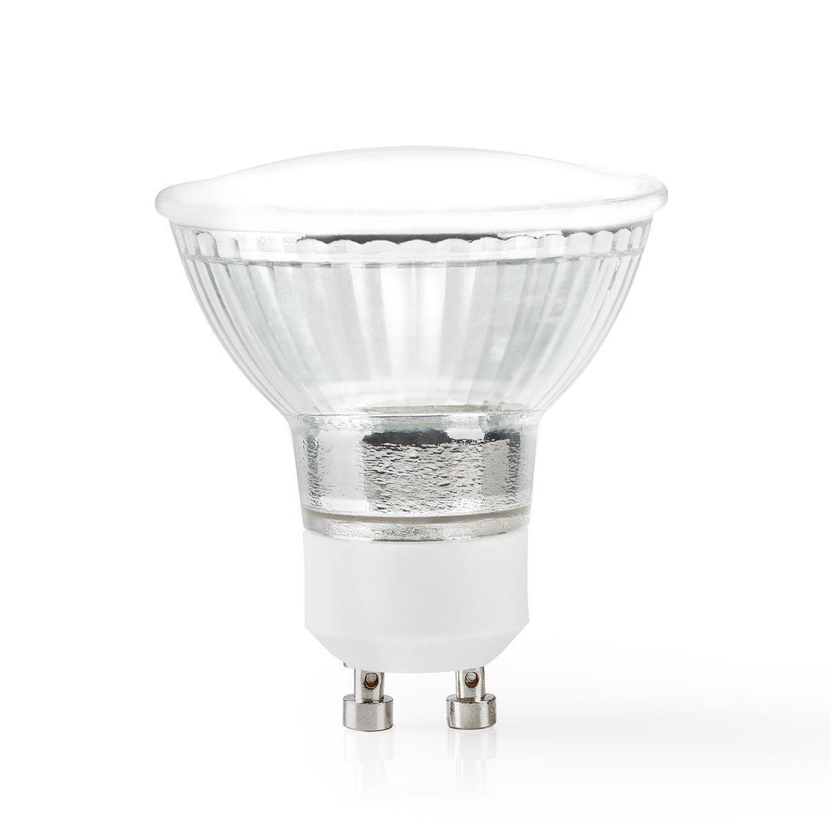 Wi-Fi Smart LED-Lamp | Full-Colour en Warm Wit | GU10 - spotje lamp aan