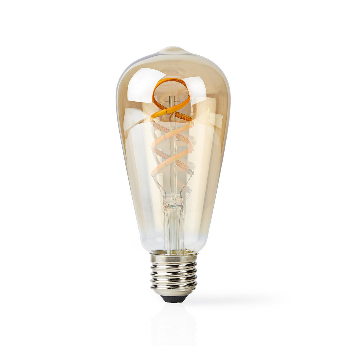 Slimme Led Edison Lamp met wifi E27 fitting 1800K - 6500K - lamp uit