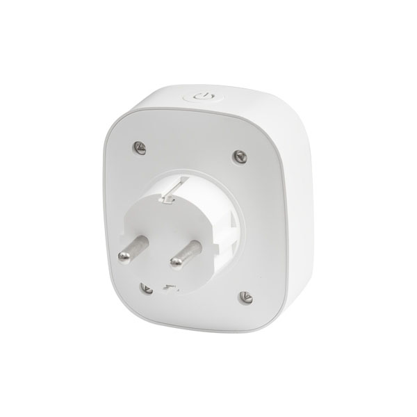 Slim stopcontact Wi-Fi 16A 3500 Watt - achterkant stopcontact