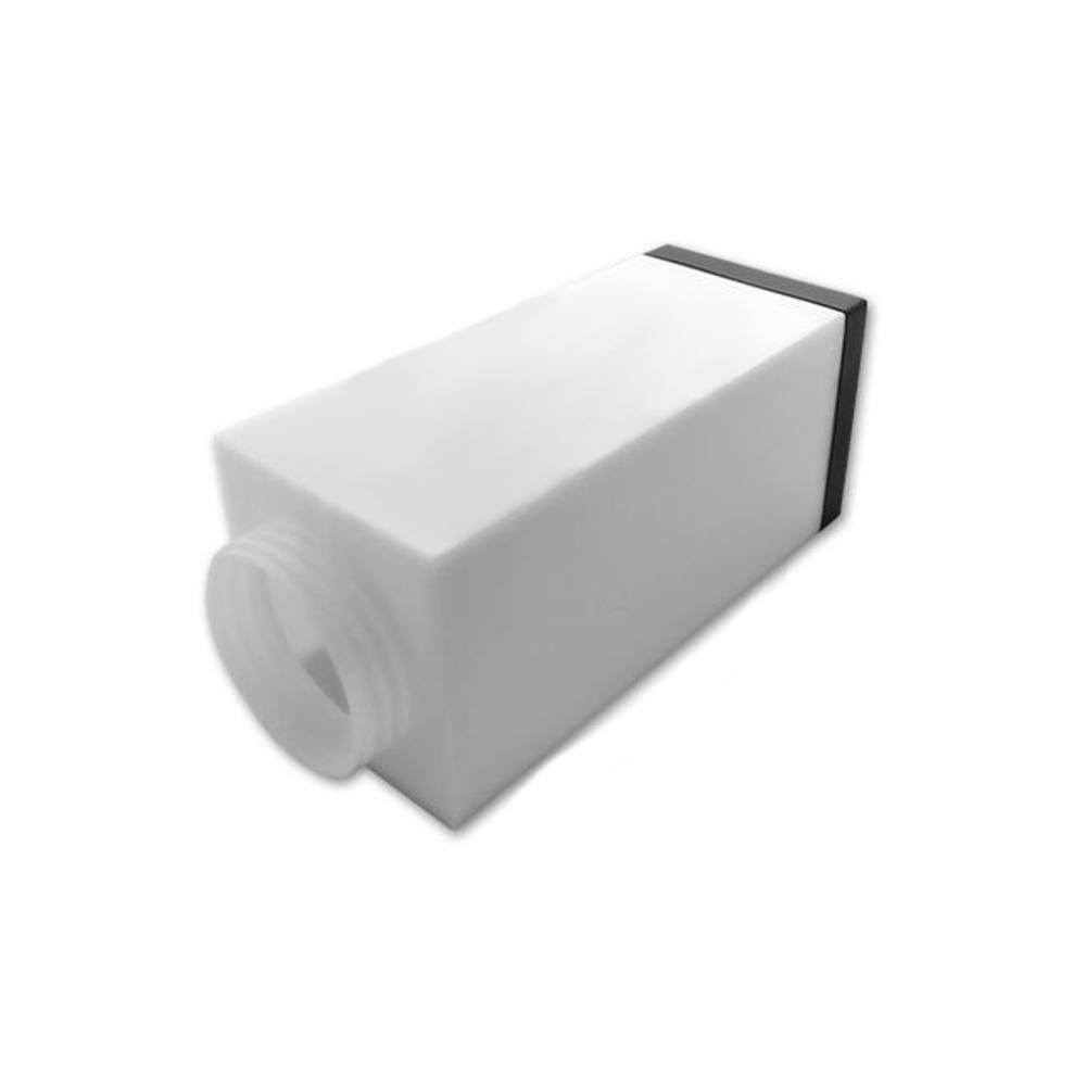 Staande buitenlamp lantaarn met stopcontact 65 centimeter E27 fitting zwart - bovenste onderdeel
