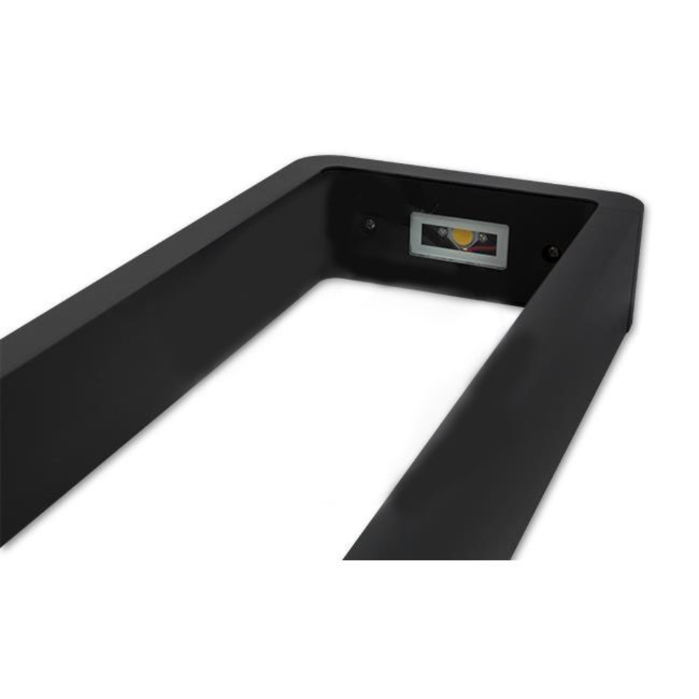 Staande buitenlamp zwart 60 centimeter 7 Watt 4000K Naturel wit - lamp