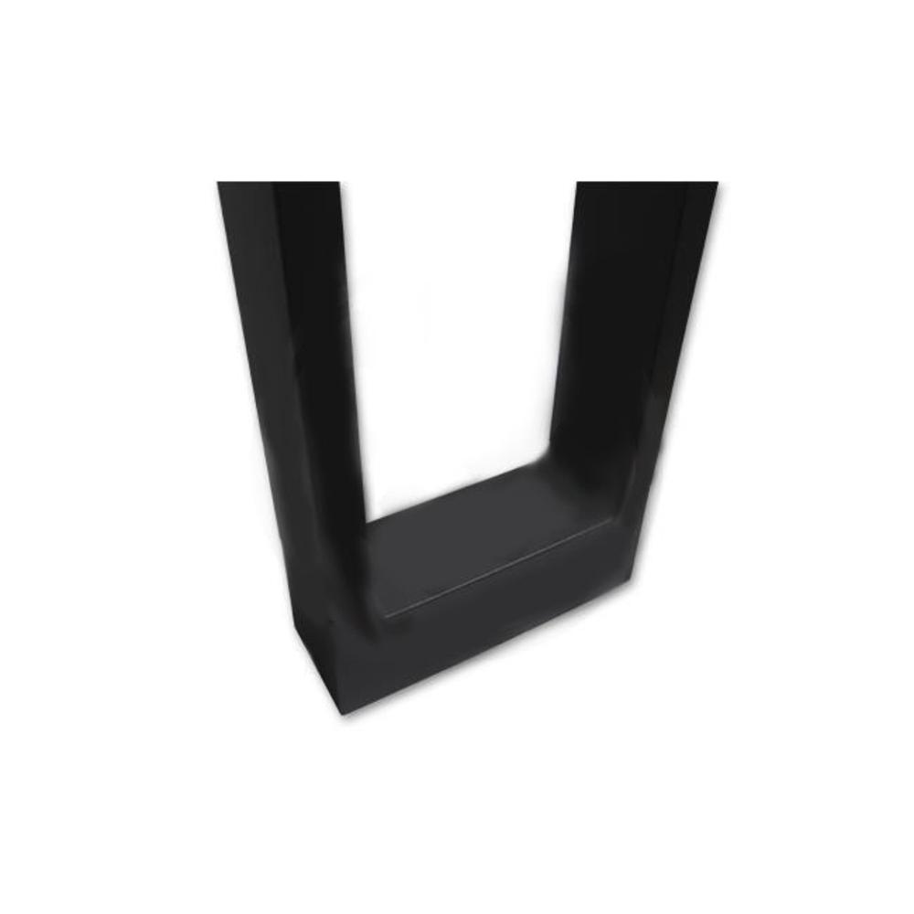 Staande buitenlamp zwart 60 centimeter 7 Watt 4000K Naturel wit - onderkant
