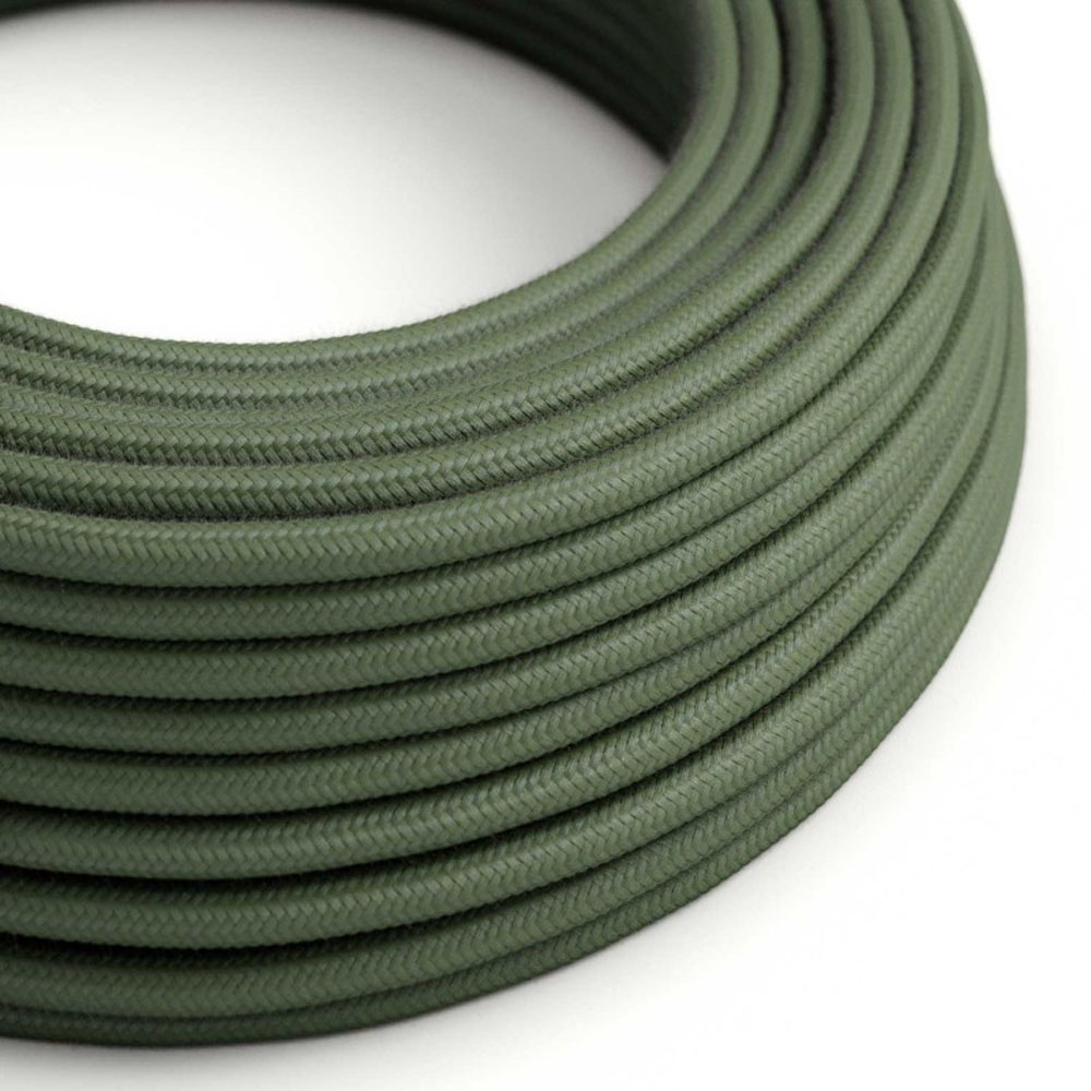 Strijkijzersnoer 220 Volt 1 meter standaard groen - kabel op rol