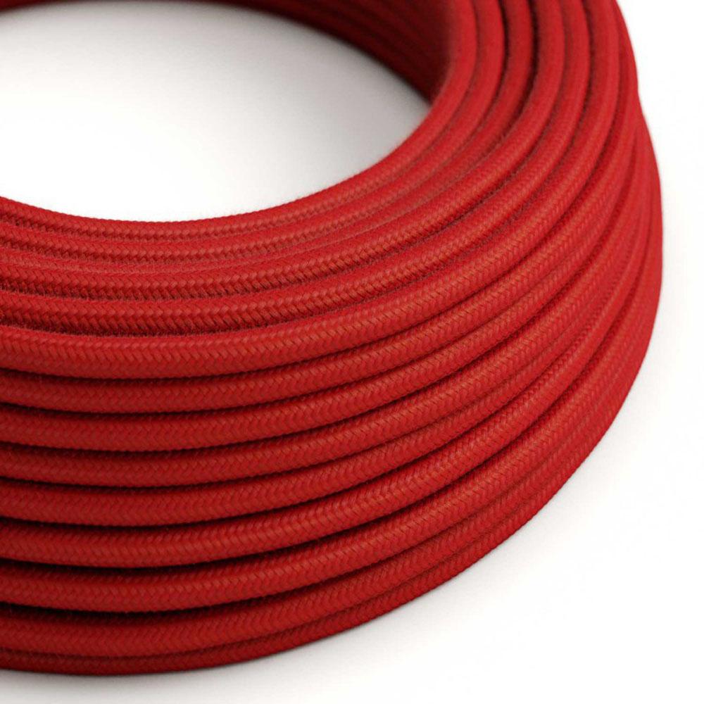 Strijkijzersnoer 220 Volt 1 meter standaard rood - kabel op rol