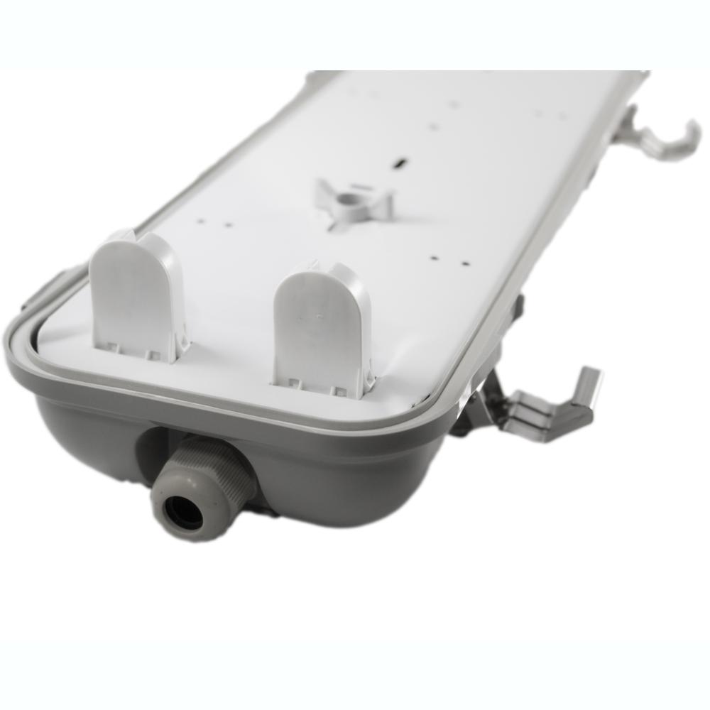 LED TL armatuur - bak - voor T8 LED TL buizen - waterdicht - IP65 - dubbel - 60cm - 120cm - 150cm - G13 fitting