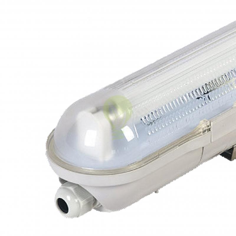 enkele led tl armatuur 60cm IP65 - waterdicht