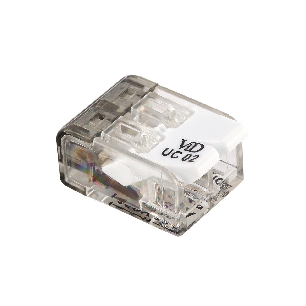 Lasklemmen universeel - 2x 0.2mm tot 4mm draden - 100 stuks - 2 voudig