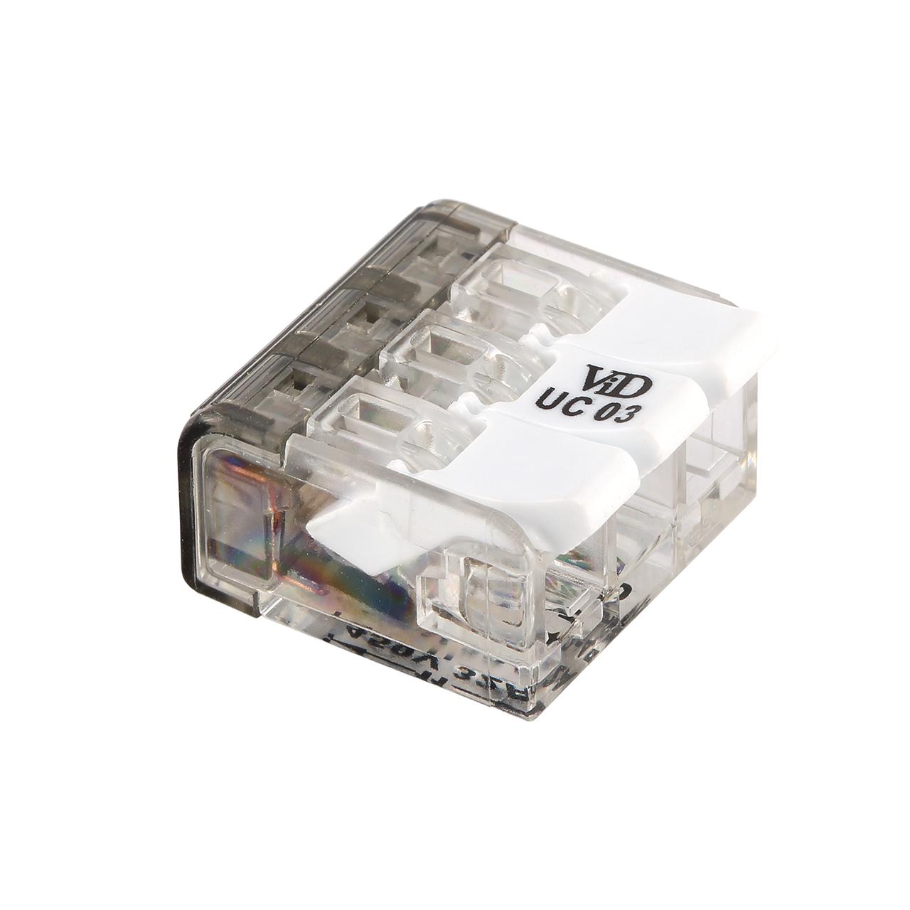 Universele lasklem - 3x 0.2mm tot 4mm - 3 voudig - per 50 stuks