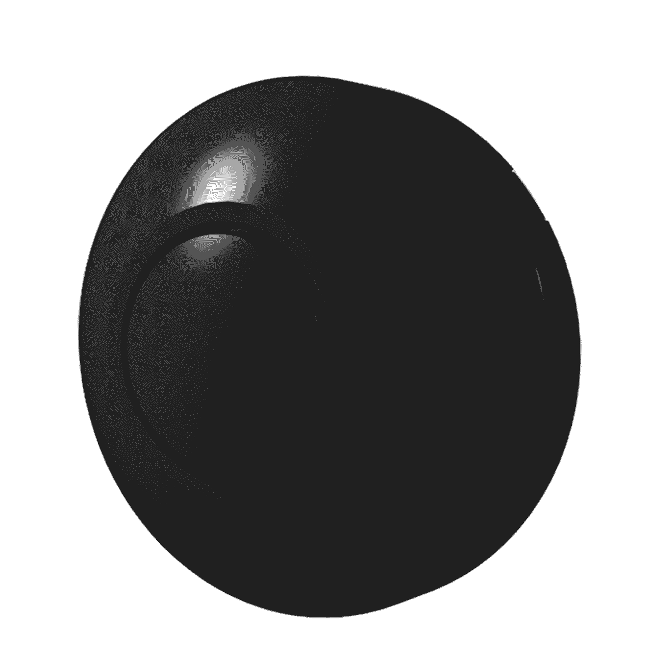 Vloerdimmer 0-50 watt zwart