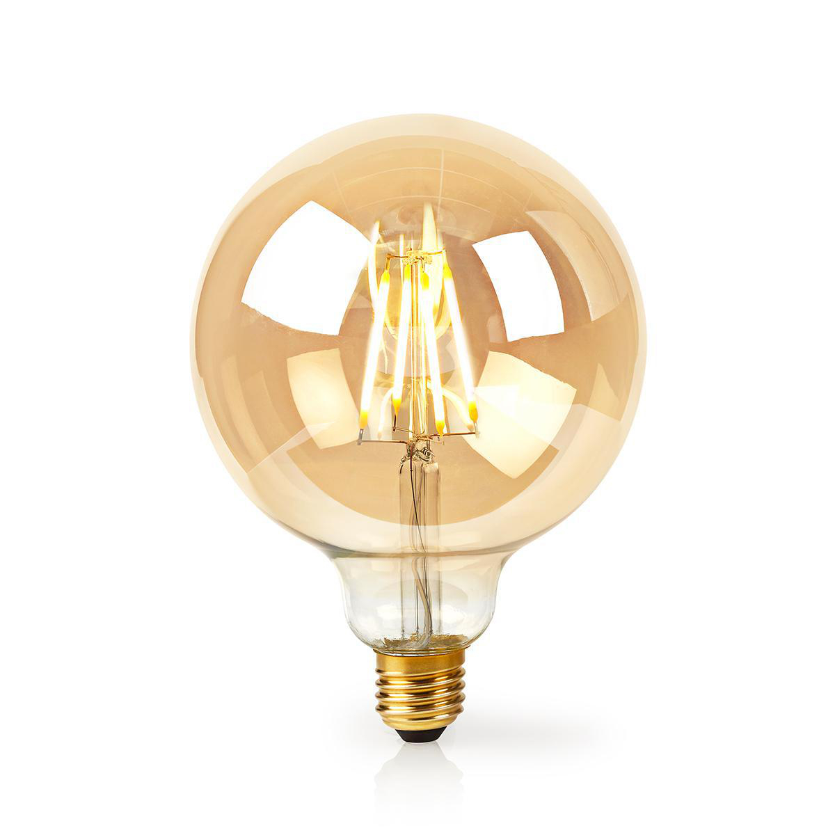 Slimme globe G125 filament lamp Wifi - E27 - 5 watt - warm wit