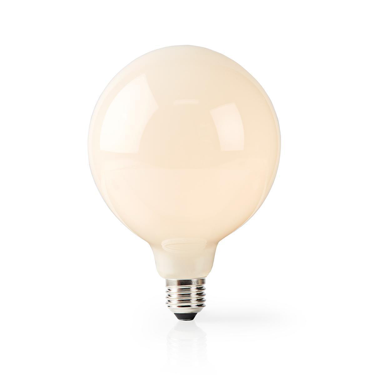 Smart lamp globe Led Lamp 5 Watt 2700K - Warm wit - lamp aan