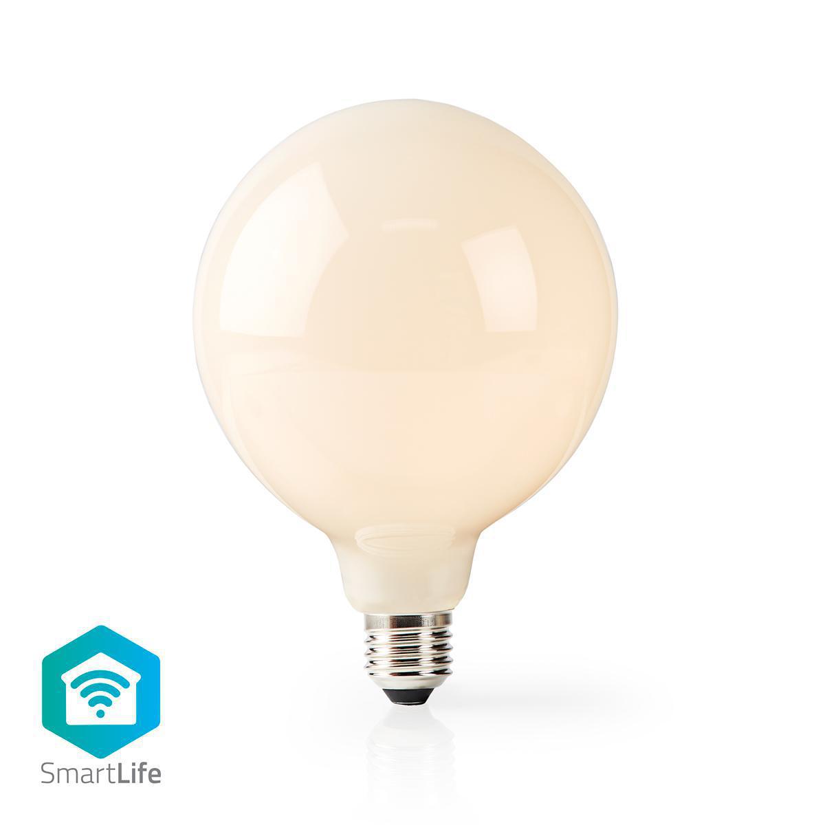 Smart lamp globe Led Lamp 5 Watt 2700K - Warm wit - vooraanzicht lamp