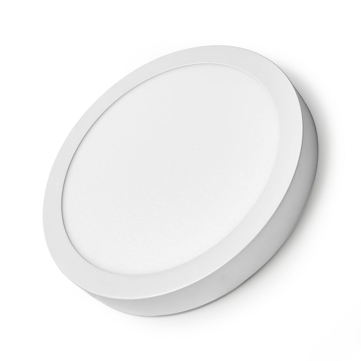 WiFi - Smart LED plafondlamp - 18 watt - 30cm - warm tot koel wit - 18 watt - dimbaar - app besturing - zijkant