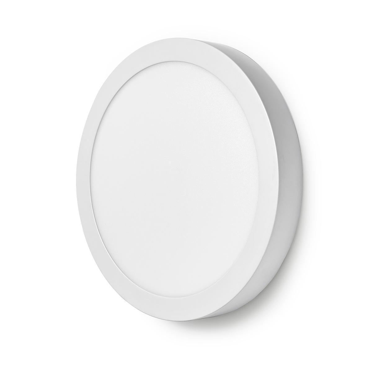 WiFi - Smart LED plafondlamp - 18 watt - 30cm - warm tot koel wit - 18 watt - dimbaar - app besturing - zijaanzicht