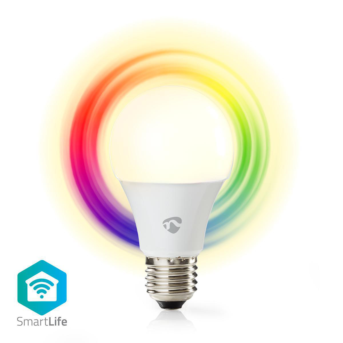 RGB Wifi LED lamp - alle kleuren - warm wit - Smart lamp - E27 fitting