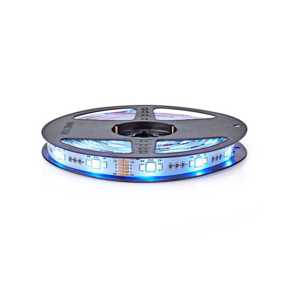 WiFi Slimme LED Strip RGB + CCT - - APP besturing - dimbaar - 5 meter - BLAUW