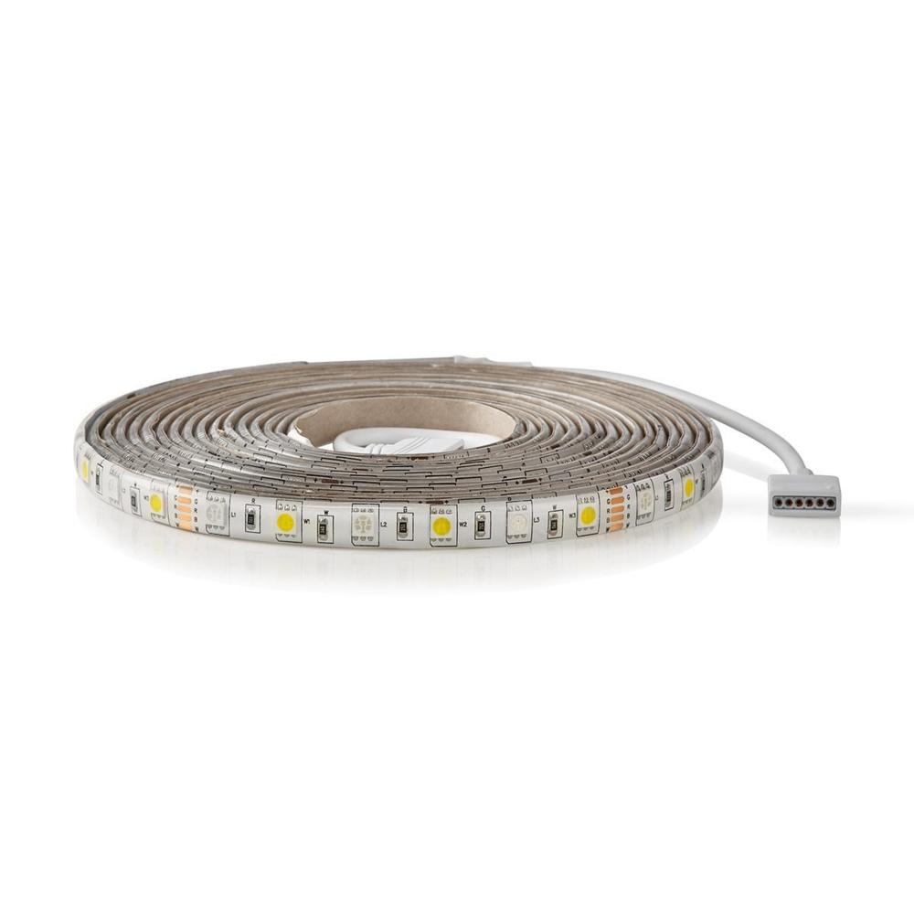 WiFi Slimme LED Strip RGB + CCT - - APP besturing - dimbaar - 5 meter ROL