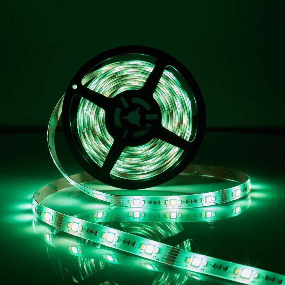 WiFi Slimme LED Strip RGB + CCT - GROEN - APP besturing - dimbaar - 5 meter