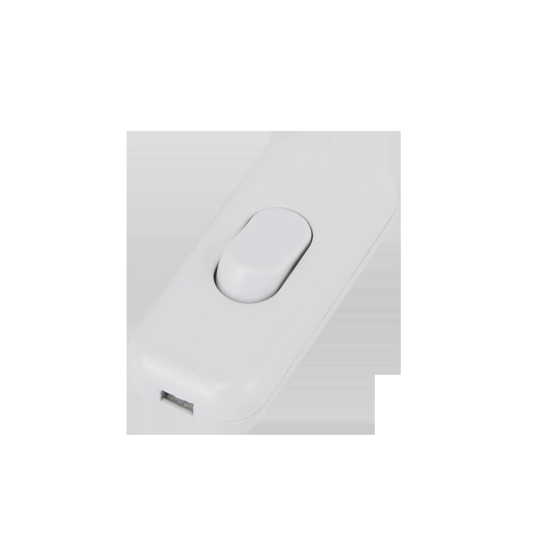 Witte kabel schakelaar - switch voor aan en uit