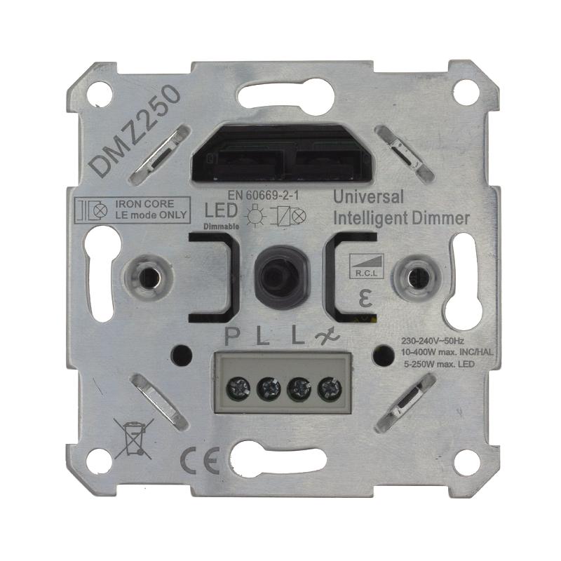 Zigbee dimmer - fase afsnijding - fase aansnijding- 5-250 watt - zonder afdekraam