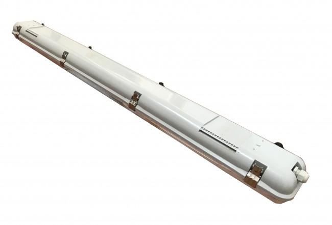 led tl armatuur 60cm dubbel ip65 waterdicht - achterkant
