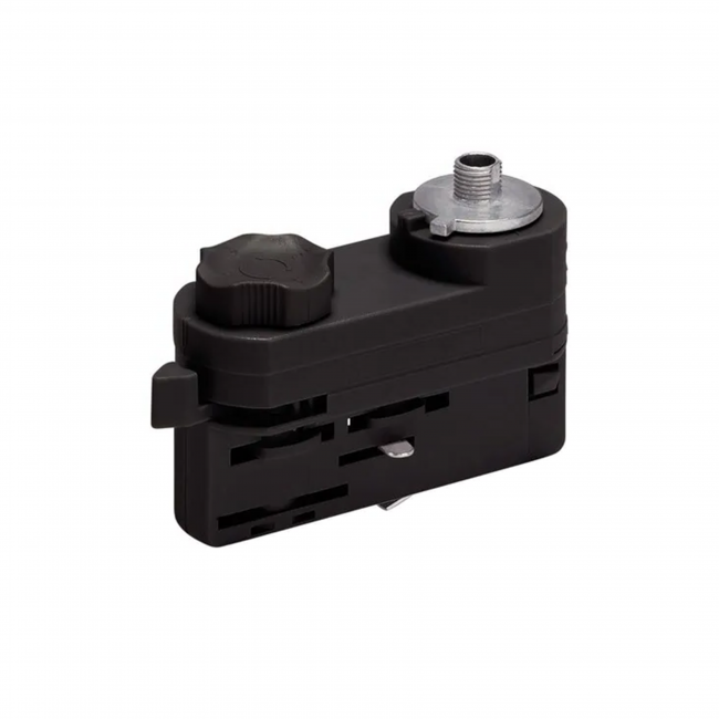 pendel adapter voor 3-fase rails zwart