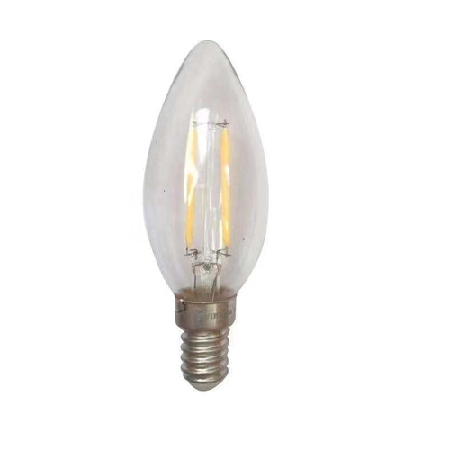 Filament lamp helder glas 1,6 Watt extra warm wit