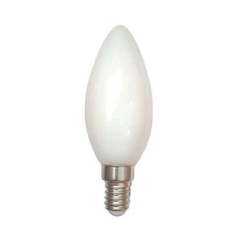 Filament kaarslamp milky C35 2100K extra warm wit