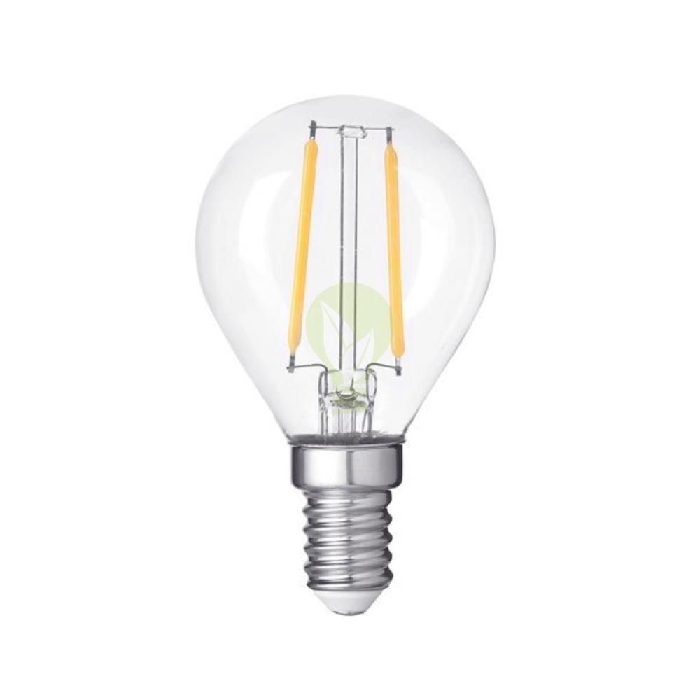 Filament Led bollamp 4W dimbaar 2700K