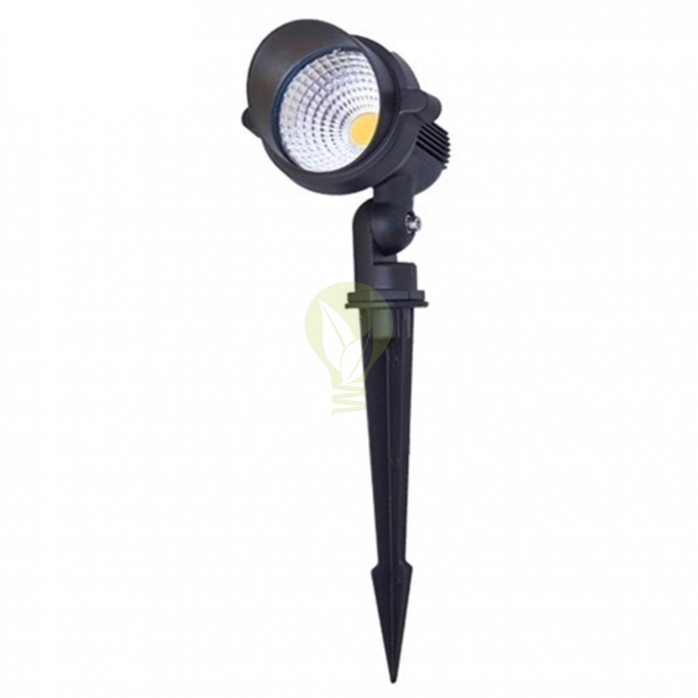 LED Tuin prik spot met spies - warm wit