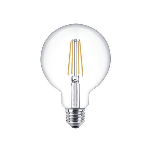LED Dimbare XL globe lamp 125mm 4 Watt grote fitting E27 2100K Extra warm wit - dimbare lamp