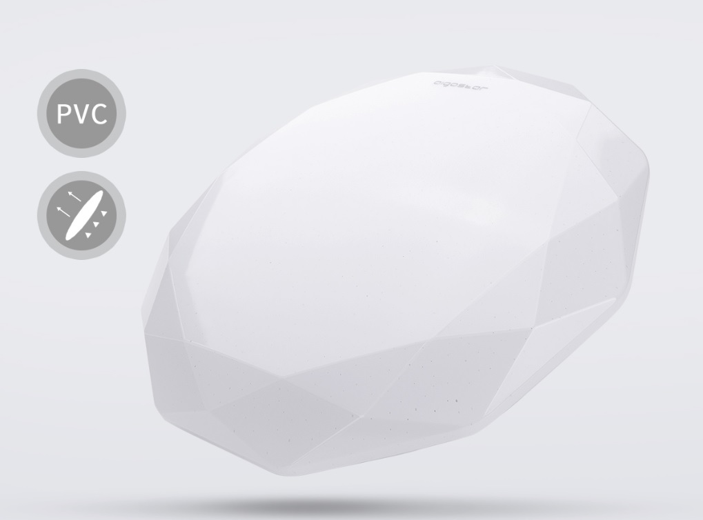 LED Plafondlamp rond diamond - 12 watt - 20 watt - materiaal