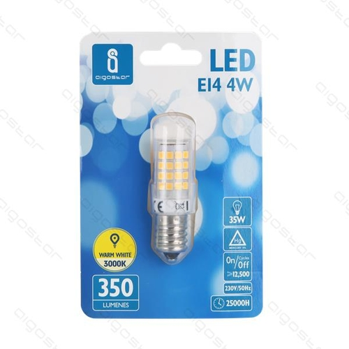 LED spot/lamp kleine E14 fitting - 3000K warm wit - voorkant verpakking