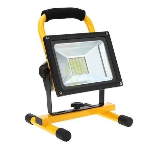 led bouwlamp op accu 20W - 30W