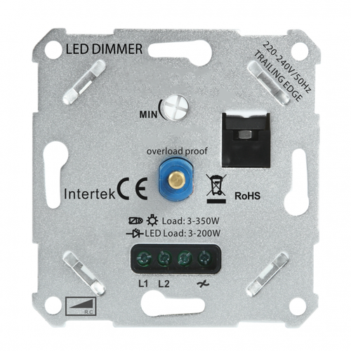 Voorkant LED dimmer 3-175W fase afsnijding