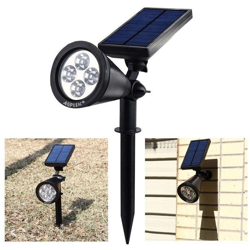 grondspot solar met spies of voor wandmontage zonne energie